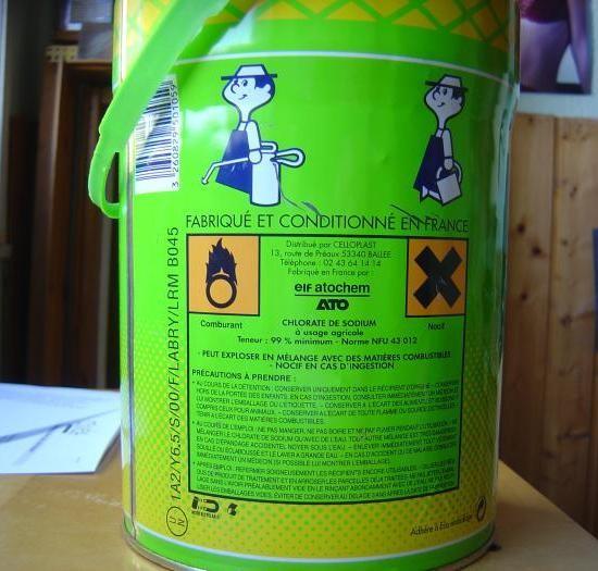 le desherbant chlorate de soude 1