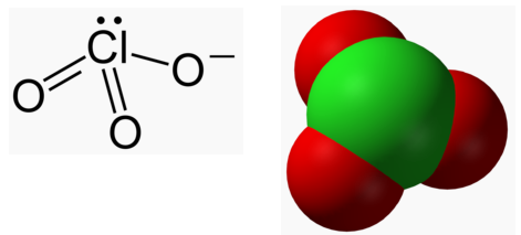 Formule chimique chlorate de soude for Chlorate de soude souche