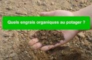 engrais organiques potager