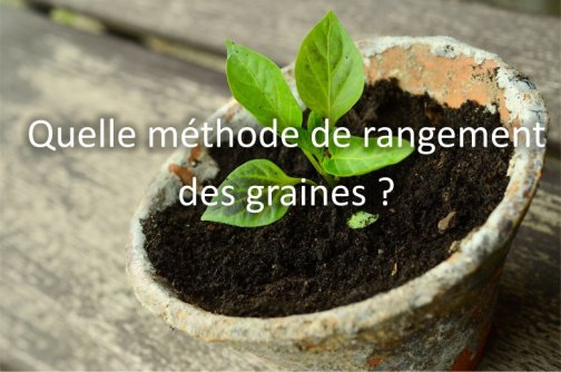 trier ranger graines