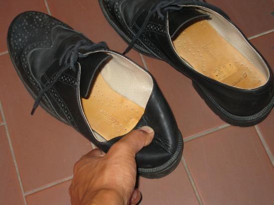 assouplir un contrefort de chaussure en cuir 5