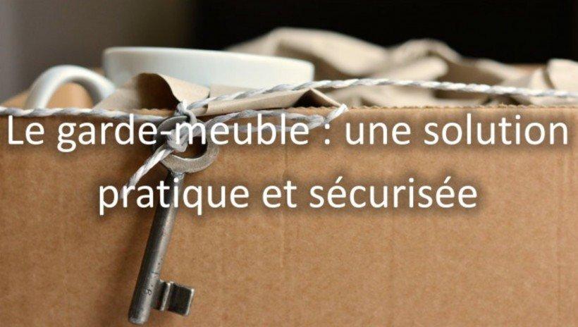 garde meuble securite