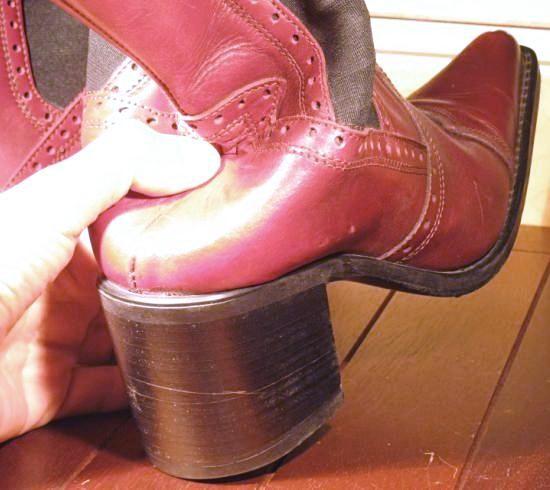 casser le contrefort d une chaussure 4