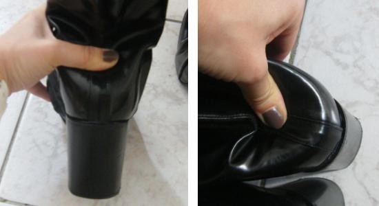 casser le contrefort d une chaussure 1