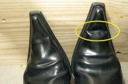 Chaussures : bout dur qui plie ou casse