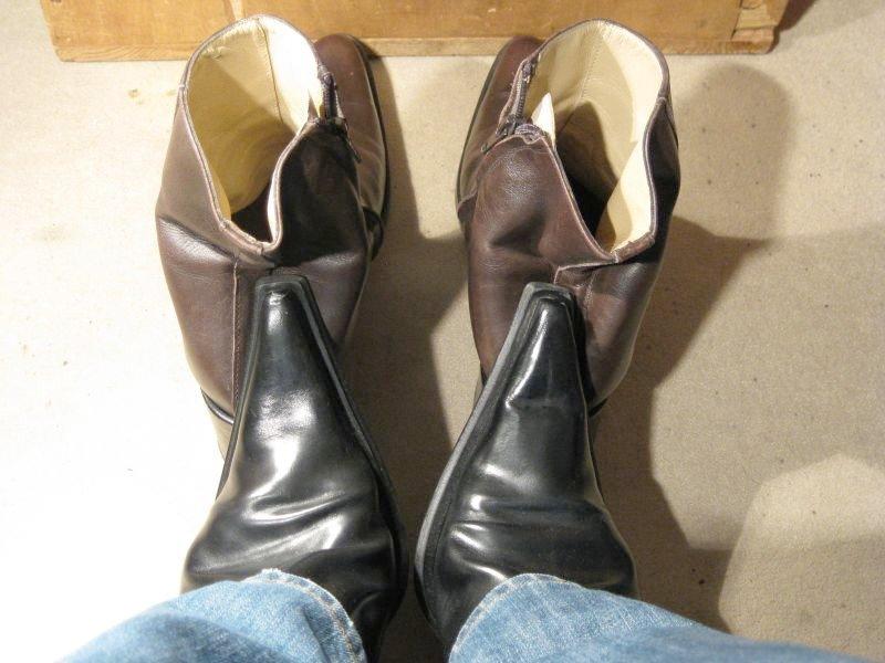 bout dur chaussure cuir devient mou