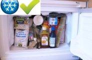 eliminer mites alimentaires congelateur
