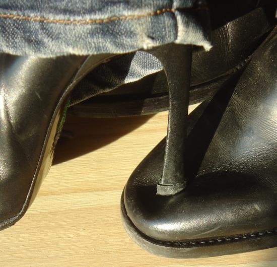 le bout dur des chaussures 3
