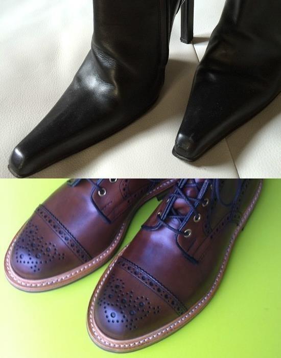 le bout dur des chaussures 1