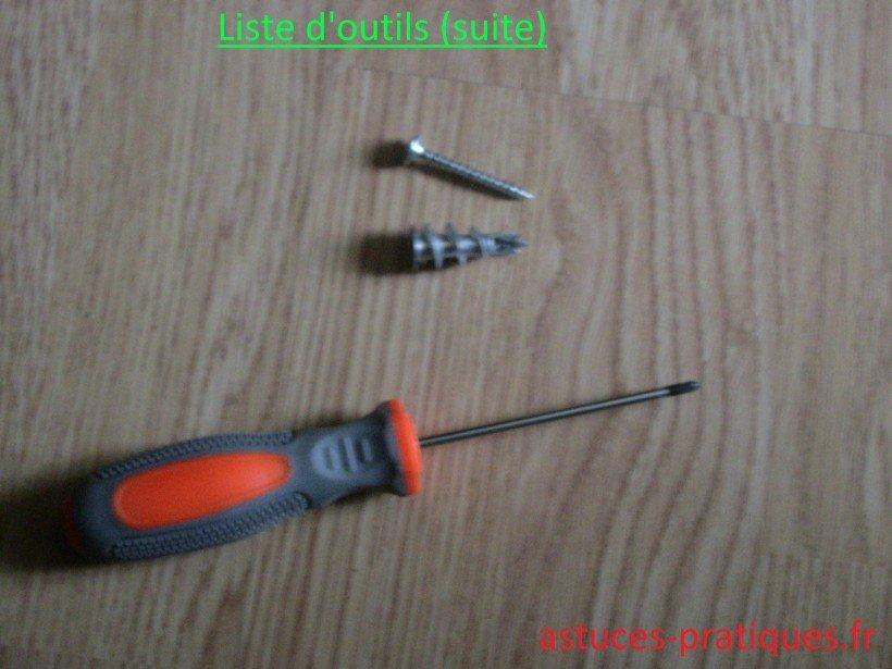 Liste d'outils (suite)