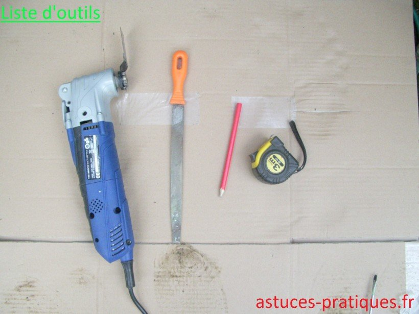 Liste d'outils