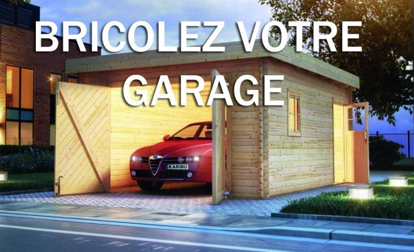 transformer son abri de voiture en v ritable garage astuces pratiques. Black Bedroom Furniture Sets. Home Design Ideas