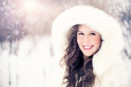 belle peau hiver