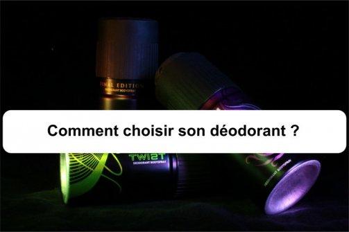 choisir son déodorant