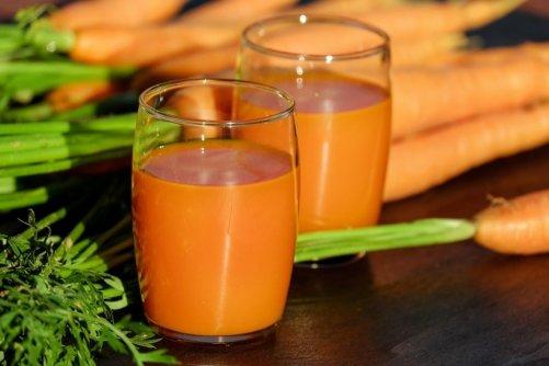 bienfaits carotte peau