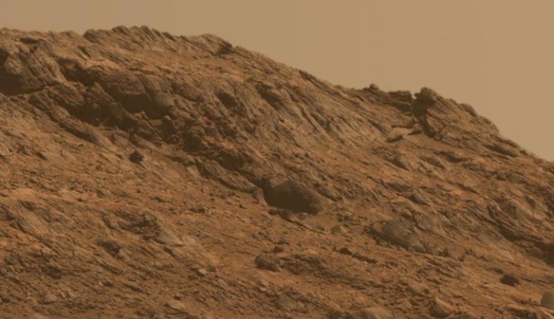 atmosphere mars ciel brun orange caramel