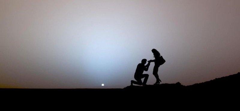 coucher soleil mars
