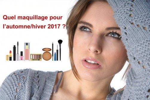 tendances maquillage automne hiver 2017