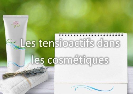 tensioactifs cosmétiques