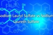 sodium lauryl sulfate sodium laureth sulfate