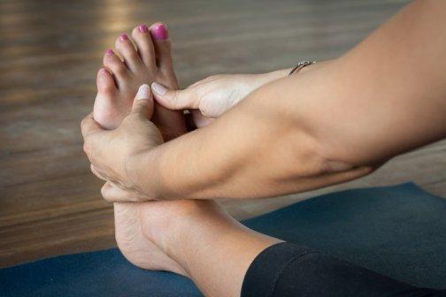 pieds gonflés douloureux