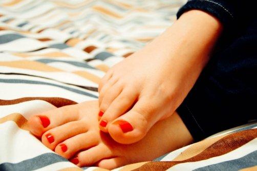 soulager pieds gonflés douloureux