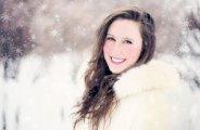 Un maquillage lumineux en hiver
