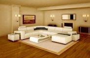 Comment nettoyer un canapé cuir blanc