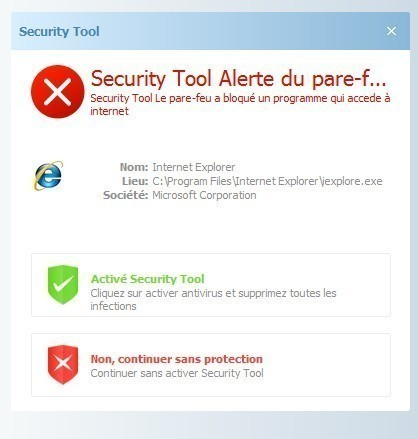 supprimer security tool 1