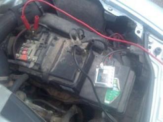 brancher des cables de batterie 6