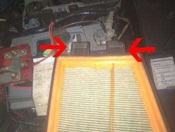 changer le filtre a air sur megane 2 7