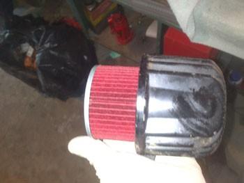 changer le filtre a huile sur fzx750 5