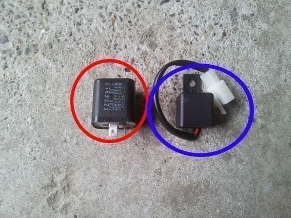 changer le relais clignotant sur gs 500 12