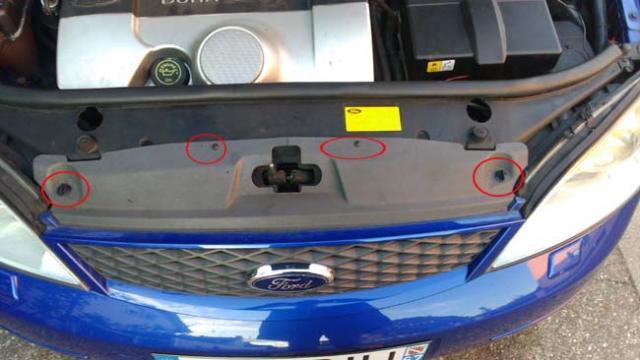 changer une ampoule avant ford mondeo 3 2