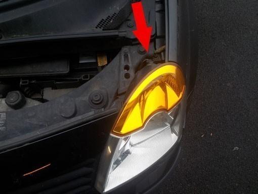 changer une ampoule de clignotant sur modus 1