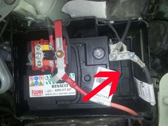 changer une batterie sur une renault twingo 6