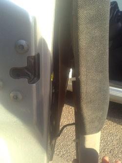 demonter le panneau de porte alfa 147 9