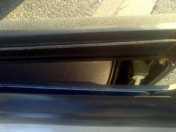demonter le panneau de porte alfa 147 10