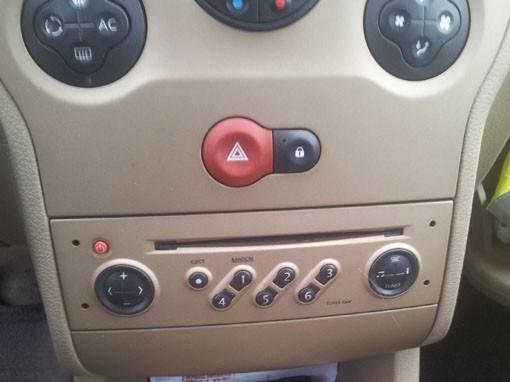 entrer le code d autoradio sur modus 4