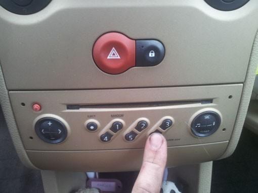 entrer le code d autoradio sur modus 6