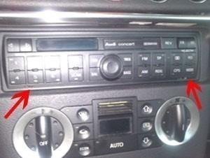 installer un autoradio sur audi tt 1
