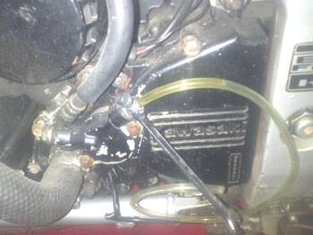 purger un embrayage hydraulique de moto 7