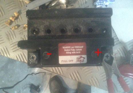 recharger une batterie moto 6