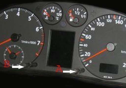 remise à zéro compteur vidange audi A4 RS4 S4 de 1995 à 2001