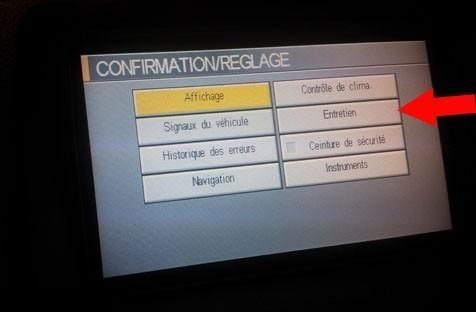 remise a zero compteur vidange nissan primera 2003 2006 6