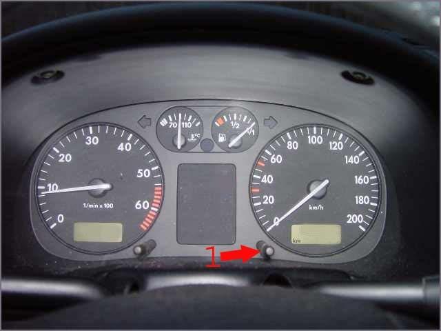 Remise à zéro compteur vidange VW polo 2010