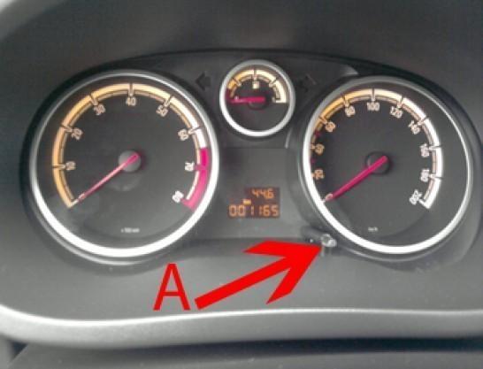 remise a zero opel corsa d 1 2l essence 1