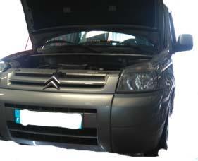 Trouver la pression des pneus sur Citroën berlingo