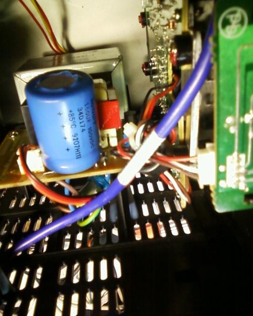 hack d une mini chaine philips en panne 0