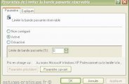 Augmenter son débit internet windows XP